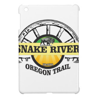 snake river yellow art cover for the iPad mini