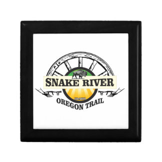 snake river yellow art gift box