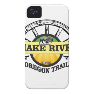 snake river yellow art iPhone 4 Case-Mate case