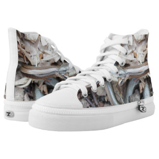 Snake shoes printed shoes