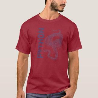 Snake skeleton, python tattoo style T-Shirt