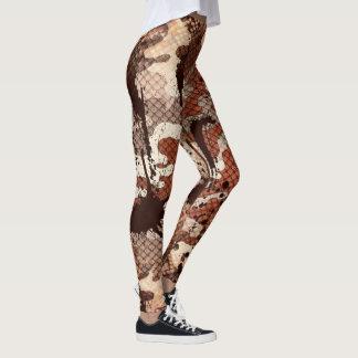 Snake Skin Camo Leggings