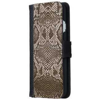 Snake skin iPhone 6 wallet case