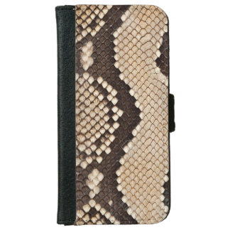 Snake Skin Look iPhone 6 Wallet Case