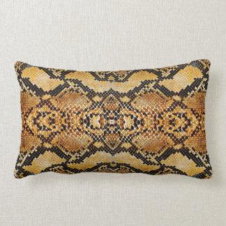 Snake Skin Lumbar Cushion