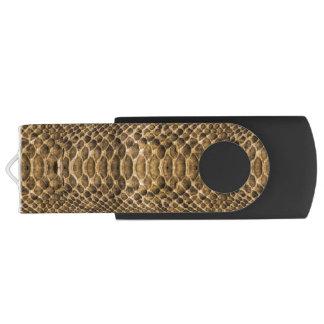 Snake Skin Pattern Customizable USB Flash Drive