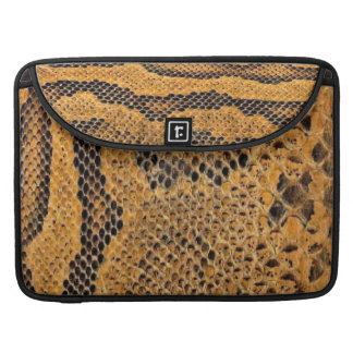 Snake Skin Print Macbook Pro Sleeve
