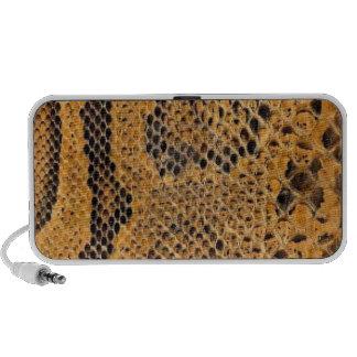 Snake Skin Print Portable Speaker