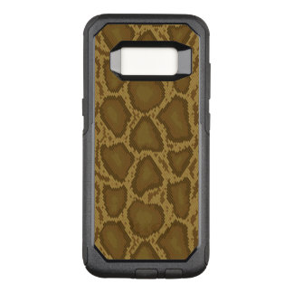 Snake skin, reptile pattern OtterBox commuter samsung galaxy s8 case