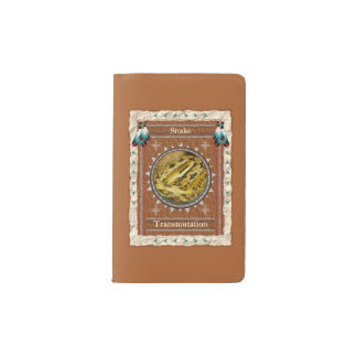 Snake  -Transmutation- Notebook Moleskin Cover