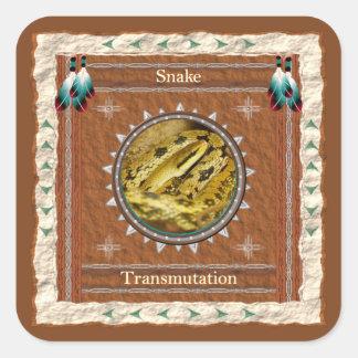 Snake  -Transmutation- Stickers - 20 per sheet