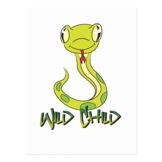 Snake WC Postcard