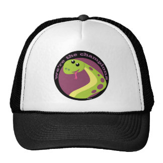 Snakes champions trucker hat