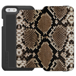 """SNAKESKIN"" iPHONE 6 WALLET CASE Incipio Watson™ iPhone 6 Wallet Case"