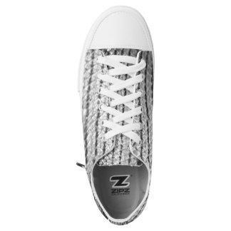 Snakeskin Pattern 4Justin Printed Shoes