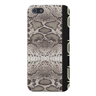 Snakeskin print pattern iPhone 5/5S cover