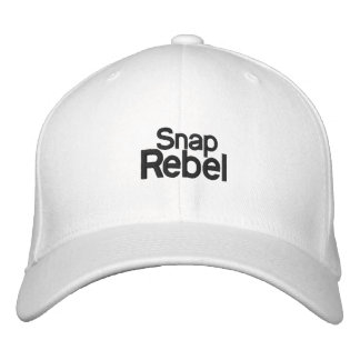 Snap Rebel Hat Embroidered Cap