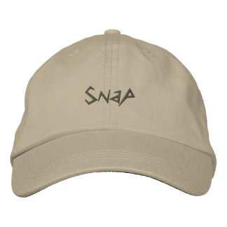 Snap-Saying-Embroidered Hat-Ladies Embroidered Cap