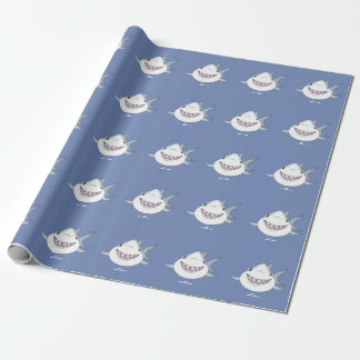"SNAP the shark  ""Guilty Grin"" Wrapping Paper"