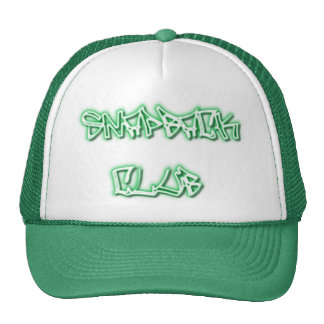 SNAPBACK CLUB hat-Flat Bill Cap