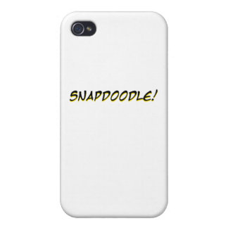 Snapdoodle! iPhone 4 Cover