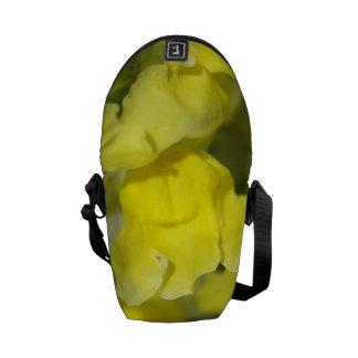 Snapdragon Yellow Flower Mini Messenger Bag