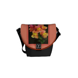 Snapdragons Mini Messenger Bag by bubbleblue