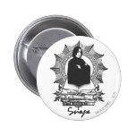 Snape 2 6 cm round badge