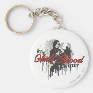 Snape 4 basic round button key ring