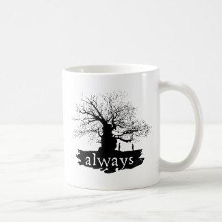 Snape And Lily - Always Basic White Mug