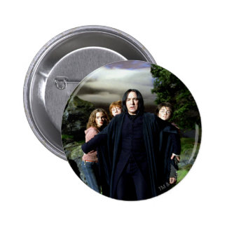 Snape Hermoine Ron Harry 6 Cm Round Badge
