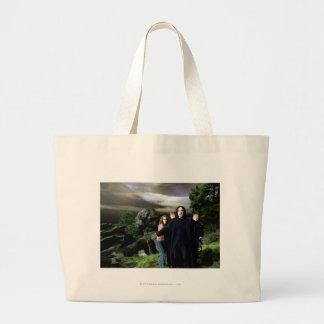 Snape Hermoine Ron Harry Jumbo Tote Bag