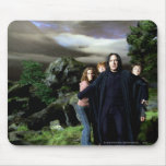 Snape Hermoine Ron Harry Mouse Pad