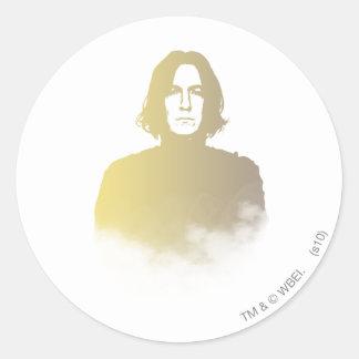 Snape Round Sticker