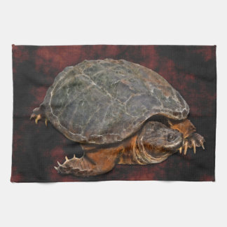 Snapping Turtle Terrapin-lover Gift Hand Towels