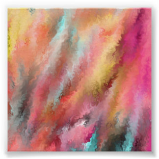 Snappy Abstract Art Poster