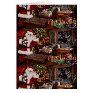 Snappy Santa Card