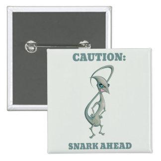 Snark 15 Cm Square Badge