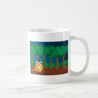 Snark in Forest Basic White Mug