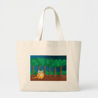 Snark in Forest Jumbo Tote Bag