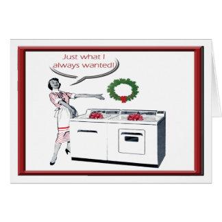 Snarkalicious Christmas Card No Major Appliances