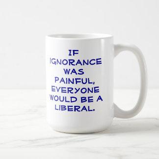 Snarky, pro-Liberal coffee mug. Coffee Mug