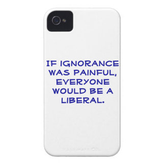 Snarky pro-Liberal iphone 4S case iPhone 4 Case