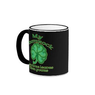 Snarky Shamrock Joke Mugs #1