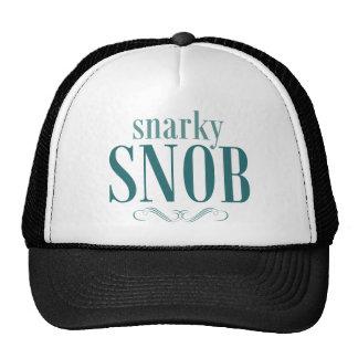 Snarky Snob Hat