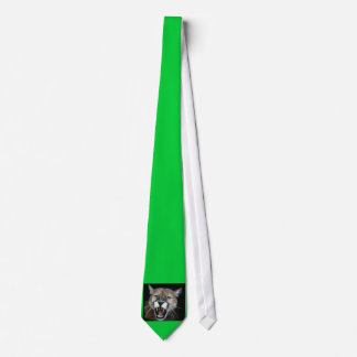 Snarling Panther Tie
