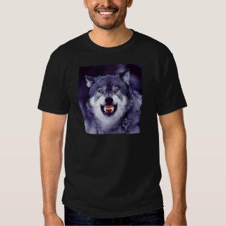 Snarling Wolf T Shirt