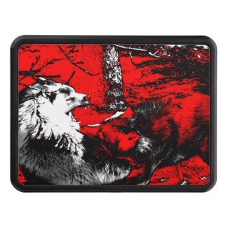 Snarling Wolf Wars Designer Tow Hitch Covers