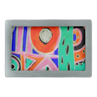 Snazzy Abstract Design Products Belt Buckles