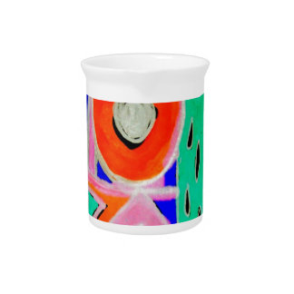 Snazzy Abstract Design Products Pitcher